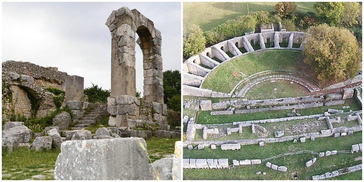 Terni un'antica città umbra dai resti barocchi e rinascimentali