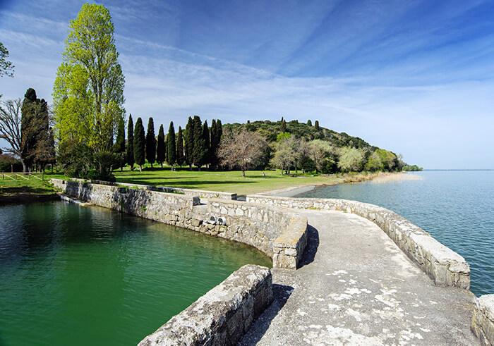 Lago Trasimeno: l'isola Maggiore, l'isola minore e la Polvese