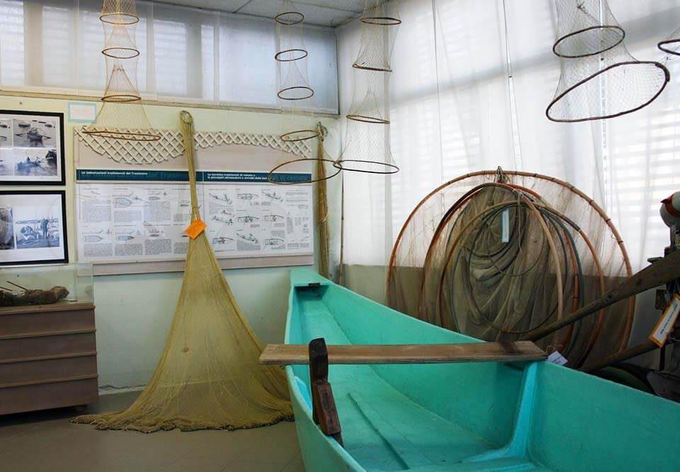 Museo della Pesca del Lago Trasimeno e l'ambiente biologico animale e vegetale