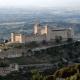 Rocca Albornoziana, una fortezza che sovrasta la città di Spoleto