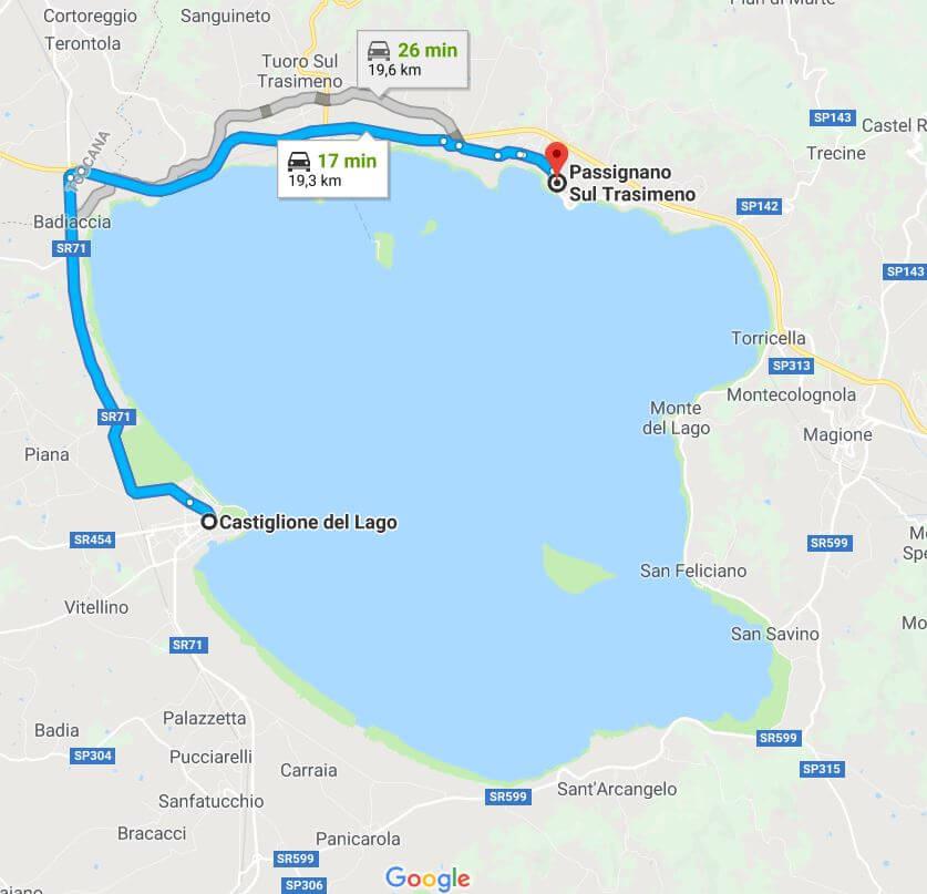 itinerario dell'Umbria del Nord