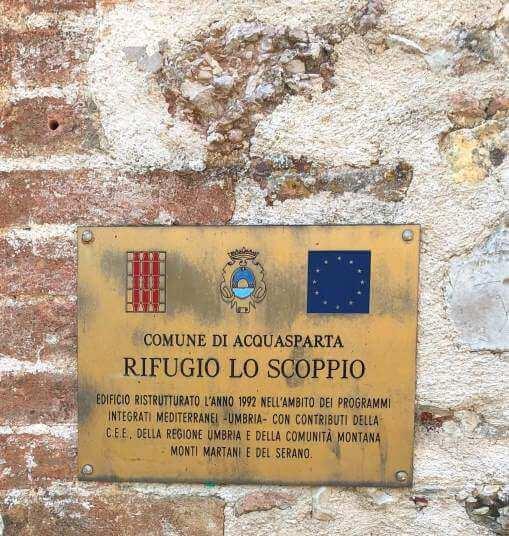 Lo Scoppio: un bellissimo paese abbandonato. 1