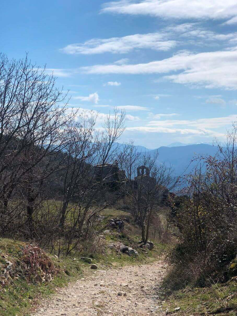Lo Scoppio: un bellissimo paese abbandonato.