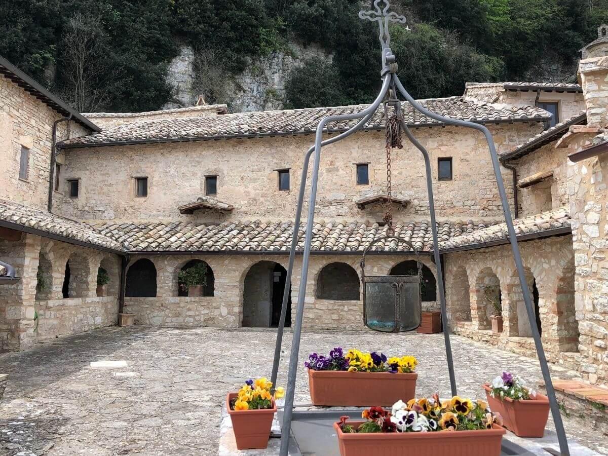 Speco di San Francesco a Narni. Il santo e il viaggio in Umbria