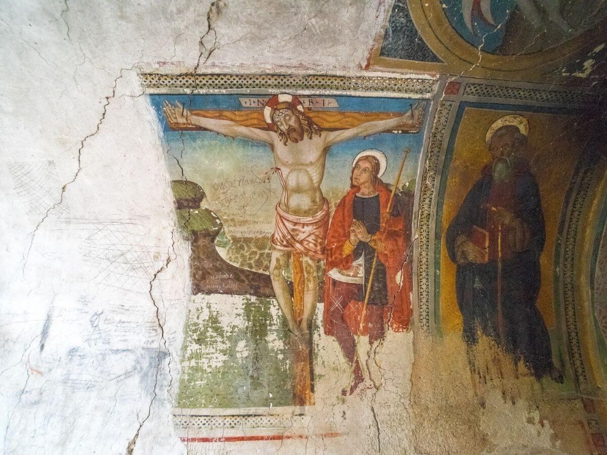 Itinerari alla scoperta dei graffiti dell'Umbria